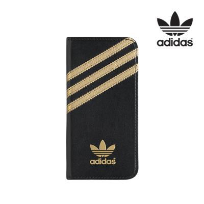 [Adidas]아이폰6S/6 Booklet Case[블랙/골드]