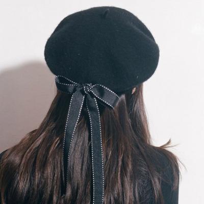 소녀 베레모 헌팅캡 빵모자 화가모자