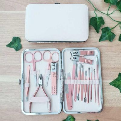 Nail CLIPPER Kit 손톱깍이 18종 세트 파우치포함
