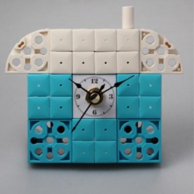 집8 블럭시계 (170246) 블럭레고형시계,조립시계