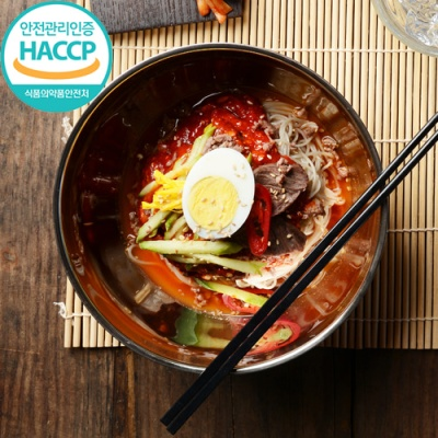 [명家면옥] 정성듬뿍 비빔 메밀냉면(5인분)