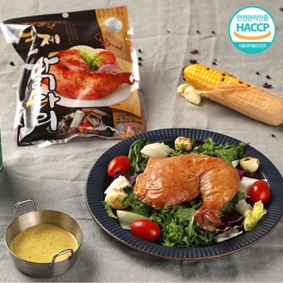[WellChef] 쫄깃쫄깃 맛잇는 훈제 닭다리 180gx10팩