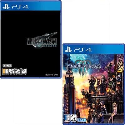PS4 파이널판타지7 리메이크 + 킹덤하츠3 (더블팩)