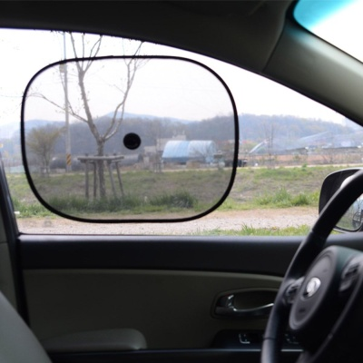 햇빛 자외선 차단 차량용 흡착식 뱃빛 가리개 2p 세트