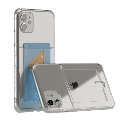 아이폰 11 아이스핏 에드온 TPU 투명 젤리 카드케이스