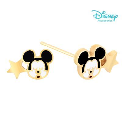 Disney 월트디즈니 쥬얼리 골드스타컬러미키 귀걸이