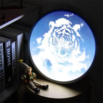 nh152-LED액자35R_풍수하늘빛호랑이