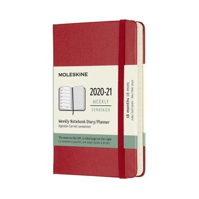몰스킨 2021위클리(18M)/스칼렛레드 하드 P