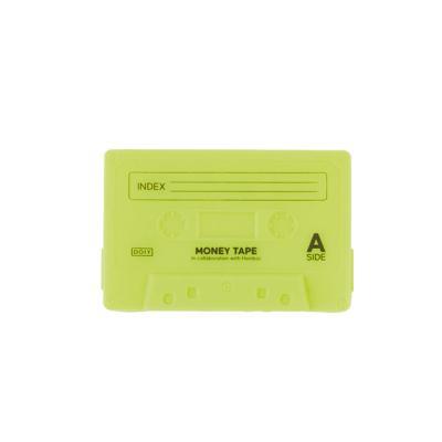 [도이] 휴대용 동전지갑 미니 파우치 카세트 옐로우