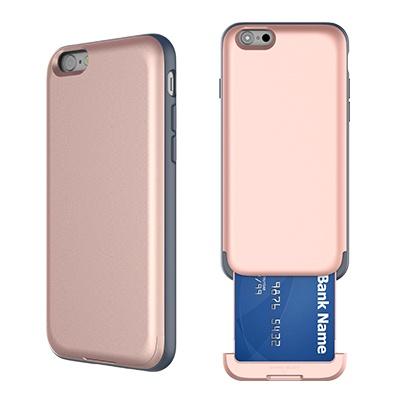 아이폰6/6s 카드슬롯 프로텍션 케이스 - 샴페인골드