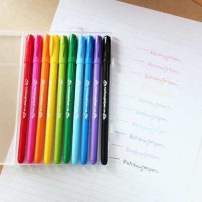 Rainbowjellpen10본세트