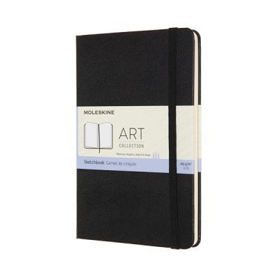 몰스킨 아트컬렉션-스케치북/블랙 하드 M