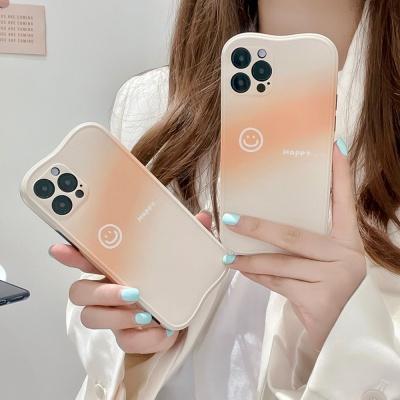 아이폰12 11pro max xs 8 스마일 그라데이션 폰케이스