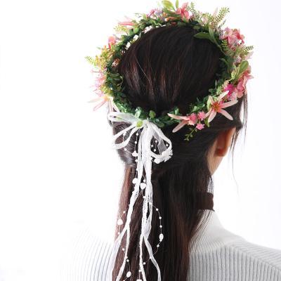 [마쉬매리골드]핸드메이드 꽃길만 걸어요 화관_PINK
