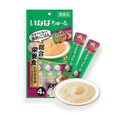 DS-202강아지츄르 종합영양식 닭가슴살 고구마(4개입)