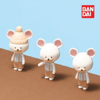 반다이 하코룸 백곰 데이비드 키트 / 조립 장난감