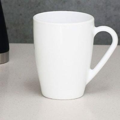 깔끔 디자인 커피잔 머그잔 카페 머그 320ml 화이트