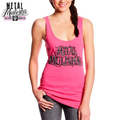 CONFIDENCE TANK TOP (HOT PINK)