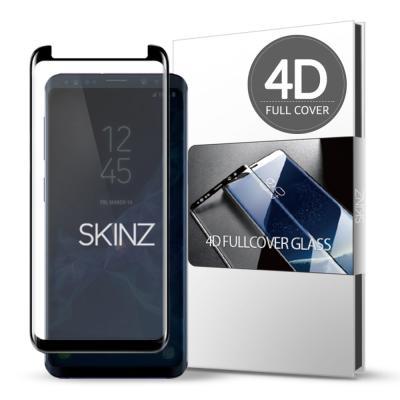 스킨즈 갤럭시S9플러스 4D 풀커버강화유리 필름 (1장)