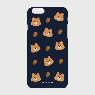 Squirrel Acorns-navy