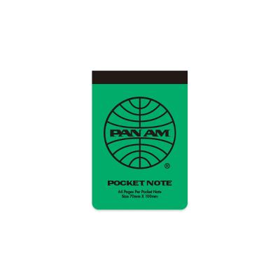 [PANAM] POCKET NOTE_ GREEN