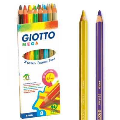 지오토-MEGA색연필-8색 - 어린이날 선물