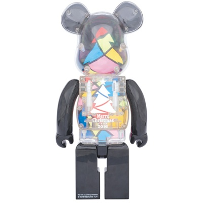 [KINKI ROBOT] 크리스마스 베어브릭 1000% BEARBRICK STAINED GLASS TREE (1612016)