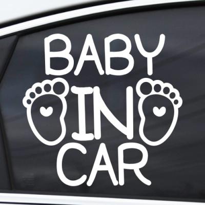 BABY IN CAR - 초보운전스티커(NEW141)
