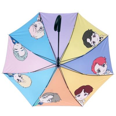 [BTS 공식라이센스] BTS 전맴버 캐릭터 자동 장우산