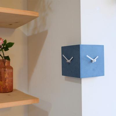[하이모리] 타임데코 코너 미니 양면시계
