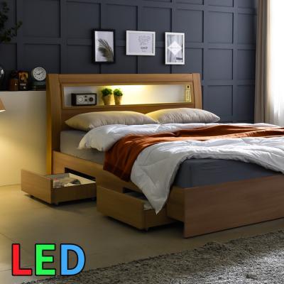 모델하우스 LED조명 서랍 침대 SS KC154