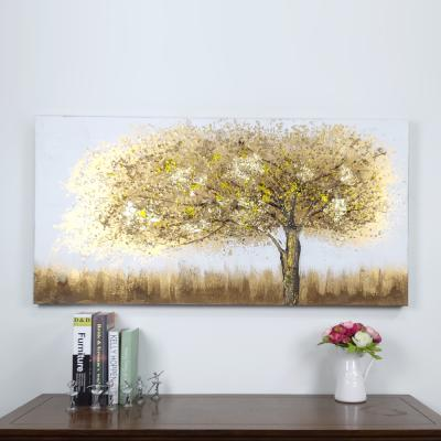 파베르 제속풍경 황금돈나무 유화 그림액자