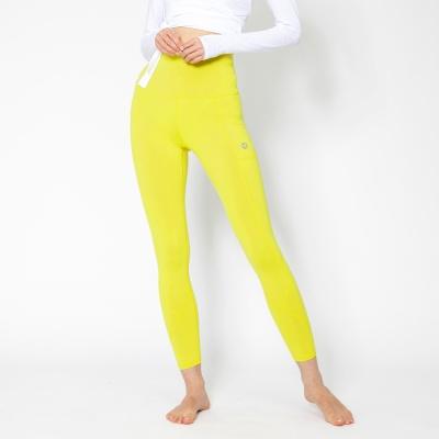 여성 트레이닝복 포켓 요가레깅스 DFW4023 옐로우