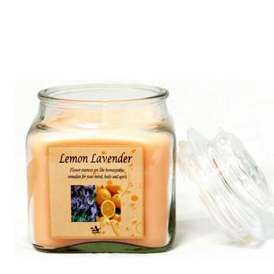 [아로마캔들] 아로마 사각 자캔들 - 레몬 라벤더 Lemon Lavender 250g