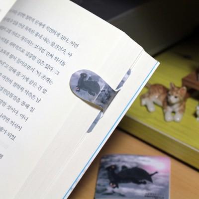 [플라스틱 and 자석 자동책갈피] 자동책갈피 수지인 : 흑룡