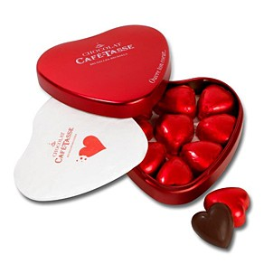 Brussels Heart Chocolate