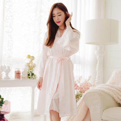 [쿠비카]여성잠옷 럭셔리 슬립 가운세트 BNBR-W941