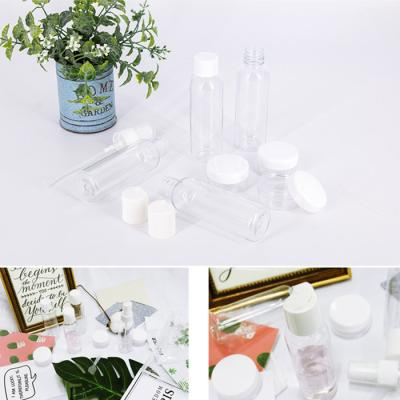 JP 화장품,에탄올,손세정제 리필공병세트 7종(투명)