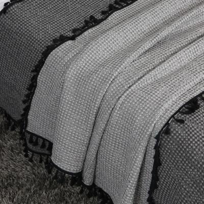 모달와플 태슬 베드러너 (블랭킷) - 2color