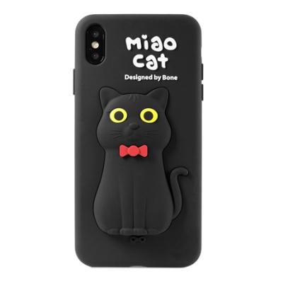본컬렉션 큐케이스 고양이 아이폰XS MAX 실리콘케이스