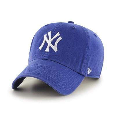 MLB모자 뉴욕 양키즈 로얄 화이트빅로고
