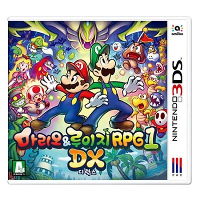 3DS 마리오&루이지 RPG 1 DX