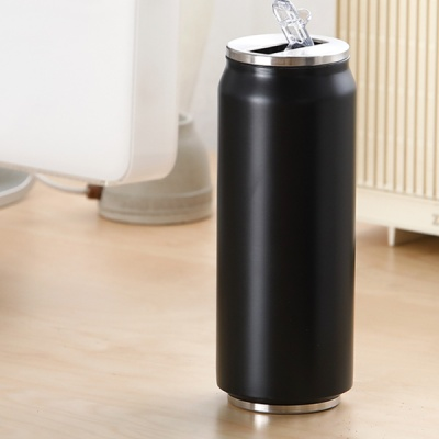 비어캔(맥주캔) 텀블러 500ml(블랙)