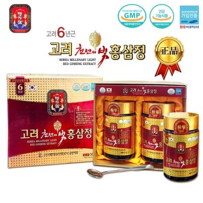 명기삼 고려천년의빛홍삼정 (500g(250gx2병)