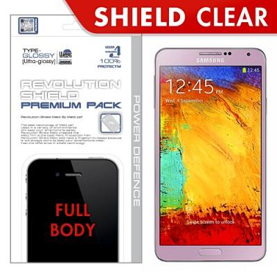 [프로텍트엠/PROTECTM] 갤럭시노트3/GALAXY NOTE3/SM-N900 레볼루션쉴드 프리미엄팩 전신보호필름+액정보호필름