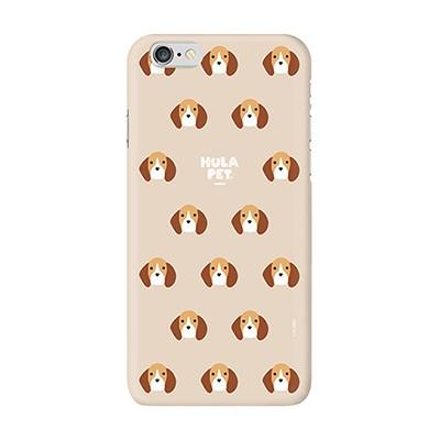 HULA PET PATTERN CASE (Beagle) / 아이폰 케이스