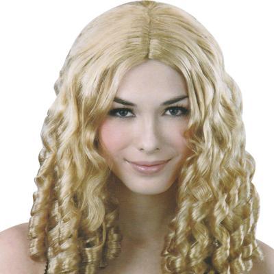 셋팅펌 백인 가발 (금발)