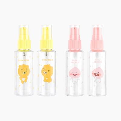 카카오 리틀프렌즈 화장품 공병 펌프용기 2P