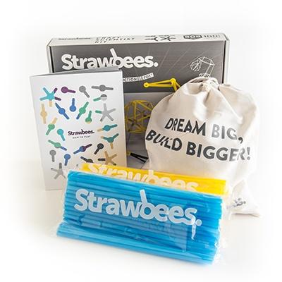 빨대로 키우는 상상력과 창의력!  Strawbees Crazy Scientist kit