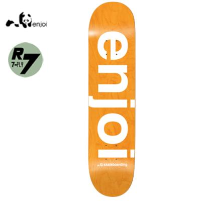 [enjoi] SPRAYED SPECTRUM ORANGE R7 DECK 7.75